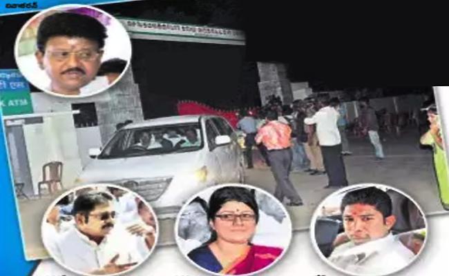 IT raids continue at Jaya TV, houses of Vivek and Krishnapriya  - Sakshi