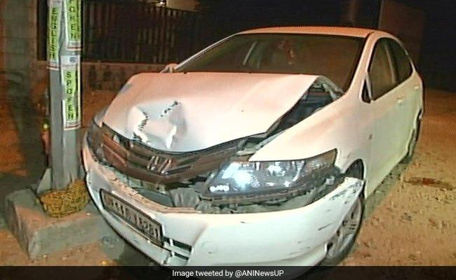 Pregnant Woman Run Over By Reversing Car Near Delhi, Minor Driver Arrested - Sakshi