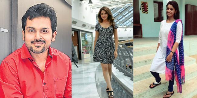 Karthi-Pandiraj film to be predominantly shot in Tenkasi - Sakshi