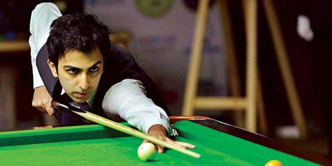 Pankaj Advani Thrashes Rival Mike Russell to Win 17th World Title - Sakshi