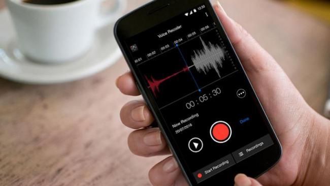 voice recorder on smartphones - Sakshi