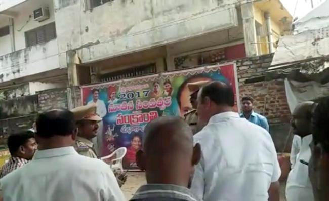 police over action on ysrcp leaders in vijayawada - Sakshi
