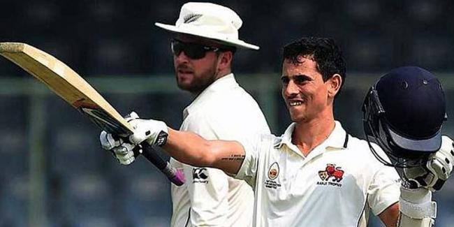 Siddhesh Lad Bats Patiently To Help Mumbai Draw Against Baroda - Sakshi