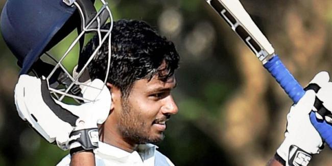 Samson's 128 frustrates Lanka, tour match ends in draw - Sakshi