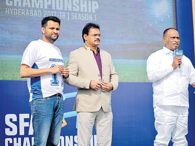 Sports For All Event Started - Sakshi