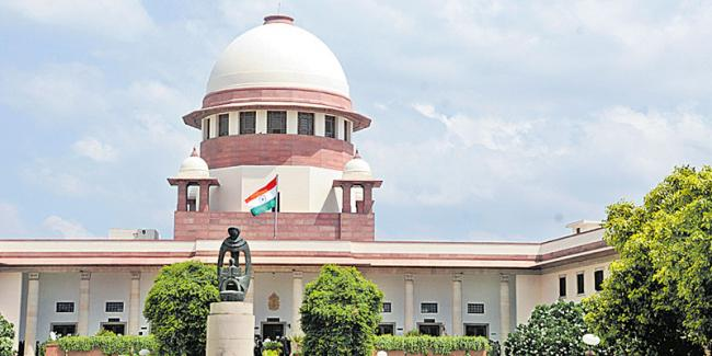 Judges bribery case: 3-judge Supreme Court bench likely to hear plea today onwards - Sakshi