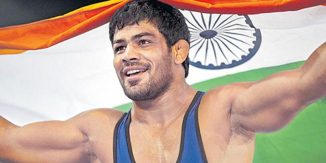 Sushil Kumar to return to the mat at the Wrestling Nationals - Sakshi