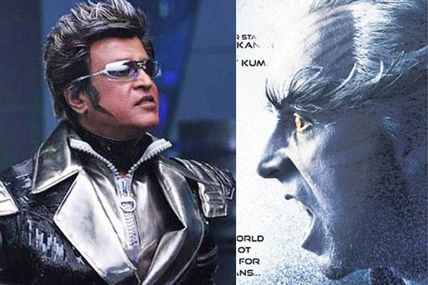 The third song in Rajini's '2.o' will be released shortly - Sakshi