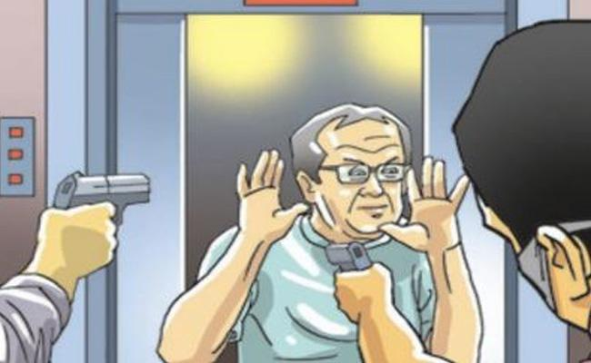 rs. 38 lakhs robbery in delhi - Sakshi