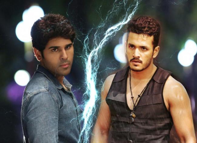 Allu Sirish to clash with Akhil akkineni this Christmas - Sakshi - Sakshi