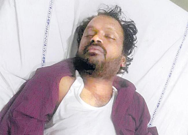 man killed in the incident - Sakshi - Sakshi