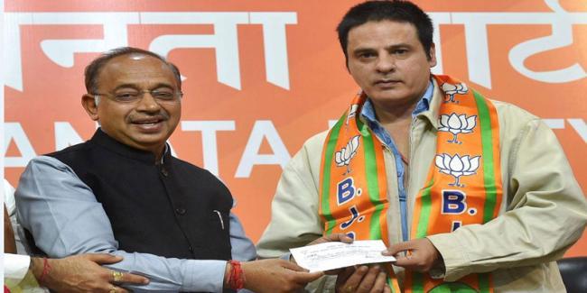 'Aashiqui' Fame Actor Rahul Roy Joins BJP  - Sakshi