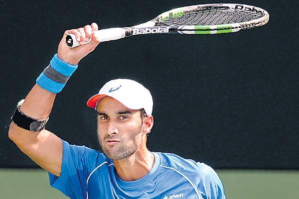 Yuki Bhambri outlasts Ramkumar Ramanathan to win Pune Challenger - Sakshi