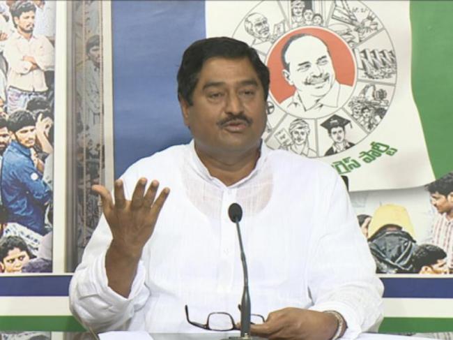Chandrababu plot to stop Jagan Padayatra, says Dharmana - Sakshi