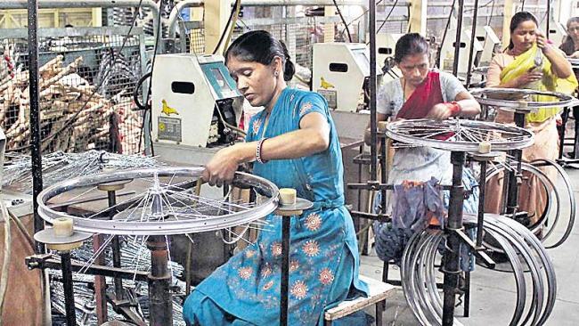 Reduced manufacturing speed in October: Nikai - Sakshi