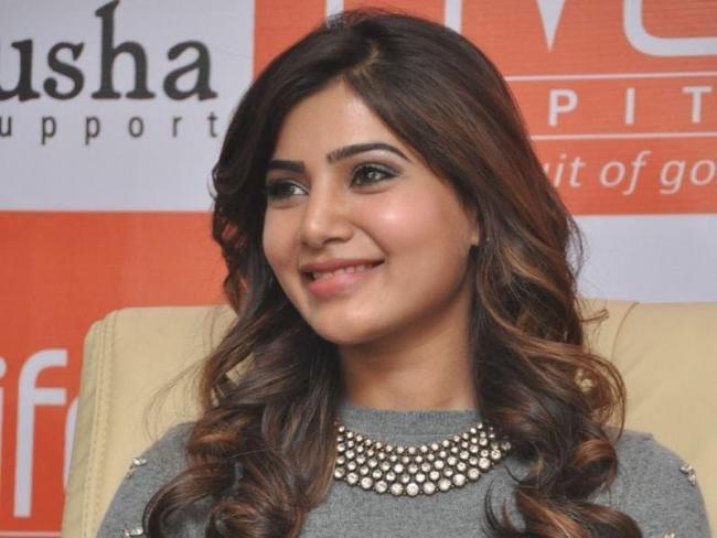 Samantha AUCTION for Pratyush foundation