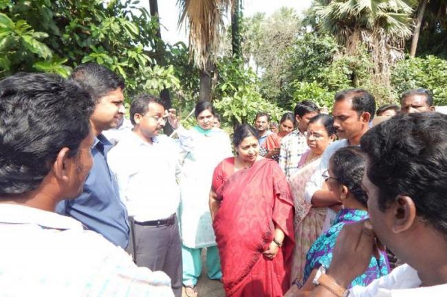 Central Secretary Leena Nair visited in Polavaram Project - Sakshi
