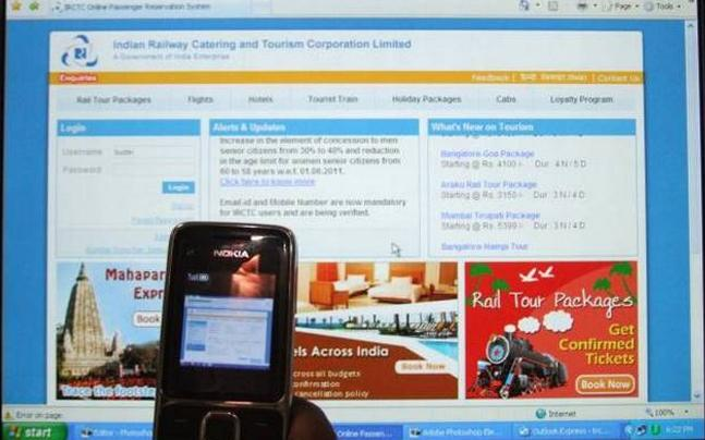 Delhi man Compensated from IRCTC for Wrong Message - Sakshi - Sakshi