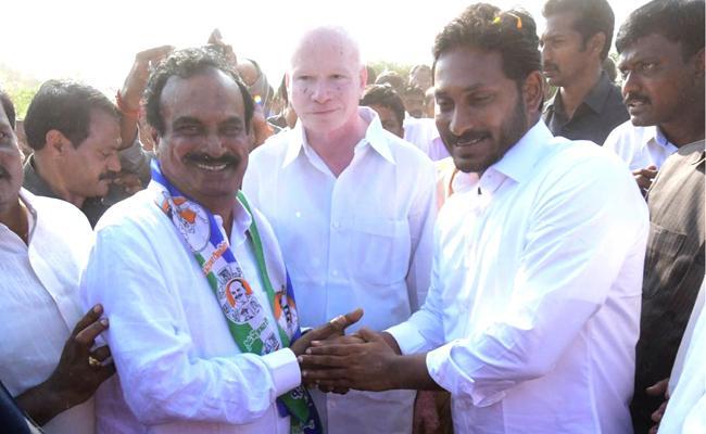 Dommeti venkateswarlu joins ysr congress party - Sakshi - Sakshi - Sakshi - Sakshi