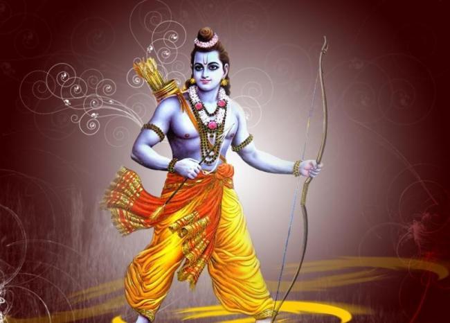 lord rama followed Natural features - Sakshi