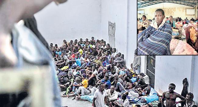 Auction of poor Africans as slaves - Sakshi - Sakshi