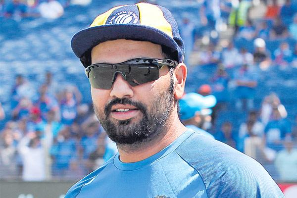 Rohit Sharma traverses a rough road to become India's 24th ODI captain - Sakshi