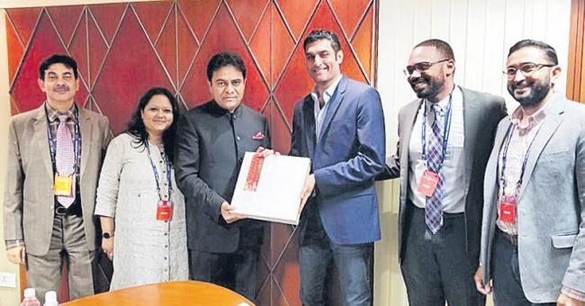 We will support Facebook expansion says KTR - Sakshi