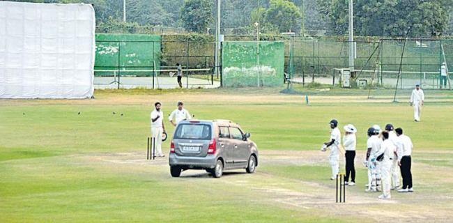 pitch is the one who throws the car up to the car - Sakshi