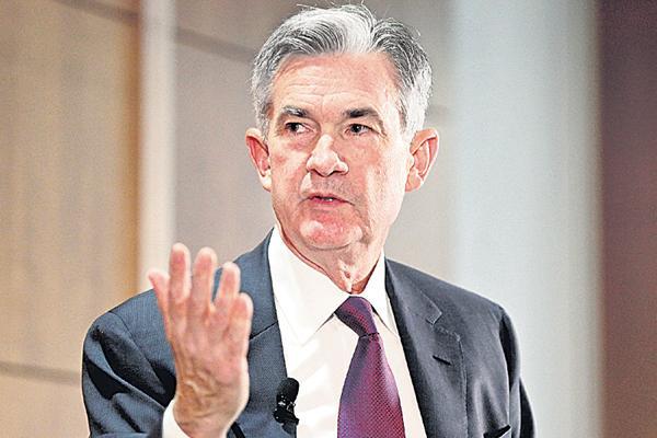 Jerome Powell as Fed Chairman - Sakshi