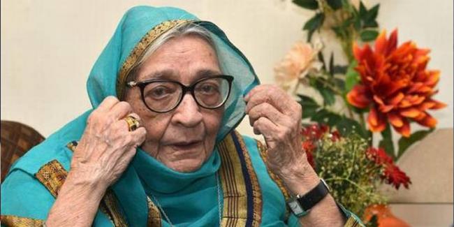 Hindi writer Krishna Sobti chosen for Jnanpith Award  - Sakshi