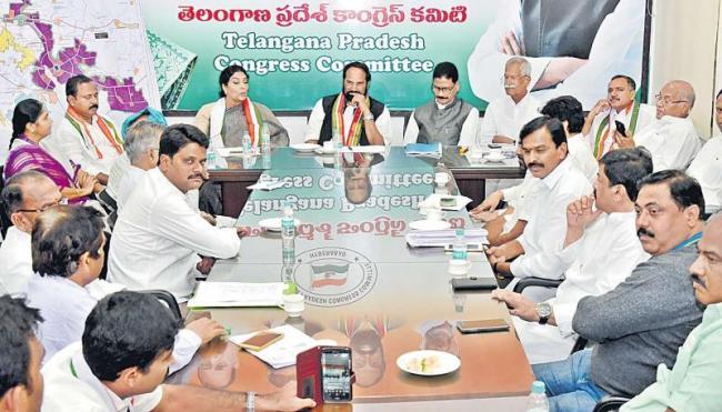Uttam kumar reddy about trs leaders - Sakshi