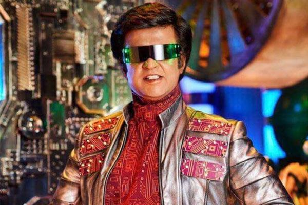 This new still of Rajinikanth as Chitti from 2.0 will get you excited for the film - Sakshi