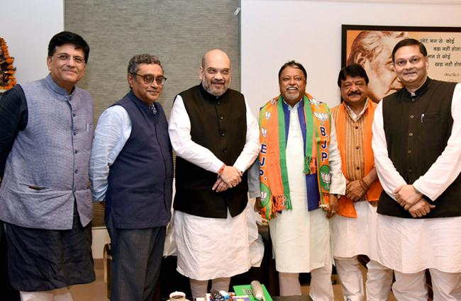 Mukul Roy joins BJP get Y-plus VIP security - Sakshi