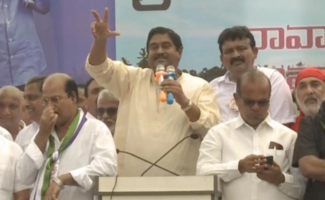 Dharmana Prasada Rao Speech in Praja Sankalpa Yatra - Sakshi