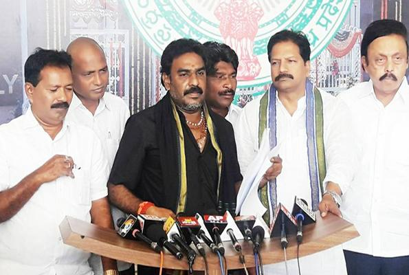 YSRCP MLAs meet Assembly Speaker - Sakshi
