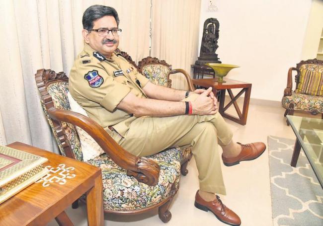 State's first DGP Anurag Sharma interview with sakshi - Sakshi
