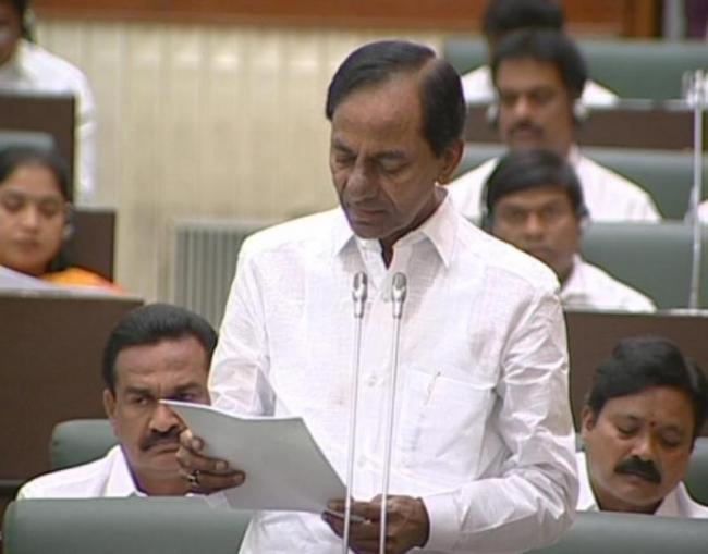 CM kcr announced 24-hour free power to agriculture - Sakshi