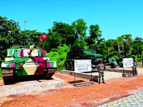 Weapon Museum at Chandipur in Odisha - Sakshi