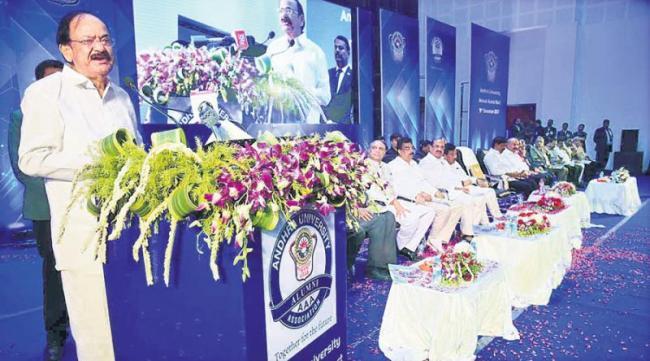 Universities need centaural excellence - Sakshi