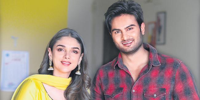 Sudheer Babu, Aditi Rao Hydari New Movie Launch  - Sakshi