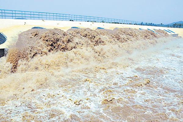 news about pattiseema project water - Sakshi
