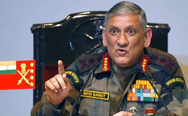 Army Chief Intresting Comments on surgical strikes - Sakshi