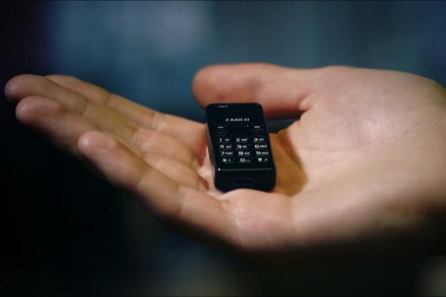 Zanco Tiny T1  the Smallest Mobile Phonei  inthe world - Sakshi