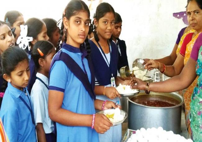 Nutrition food for kids in Kasturba Gandhi schools - Sakshi