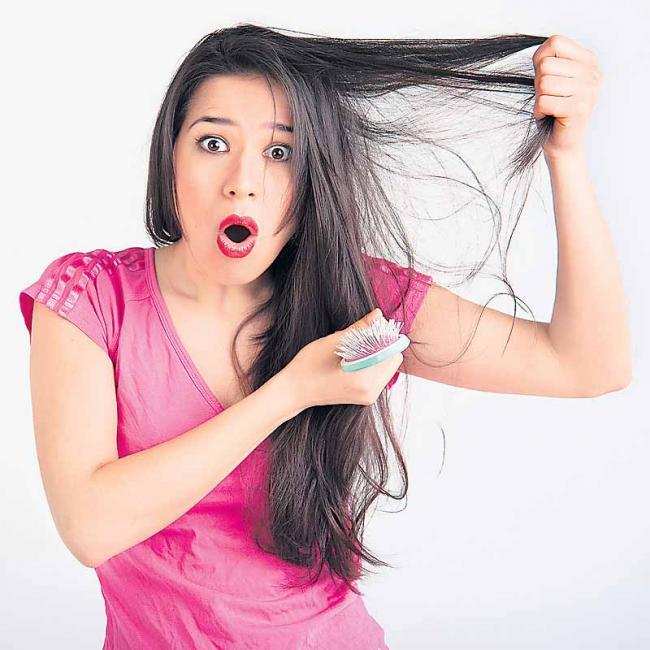 Everyday from 50 to 80 hairs are natural - Sakshi