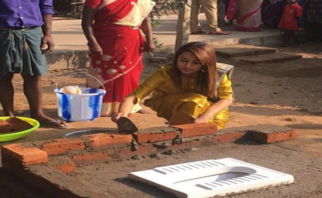 Actress Trisha Builts Bathrooms - Sakshi