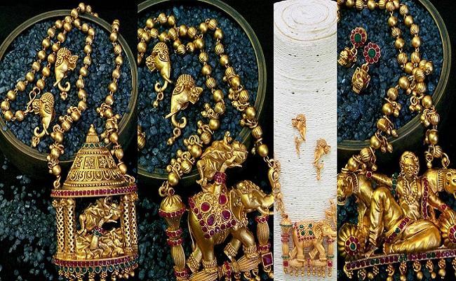 bahubali jewellery designs viral in social media - Sakshi