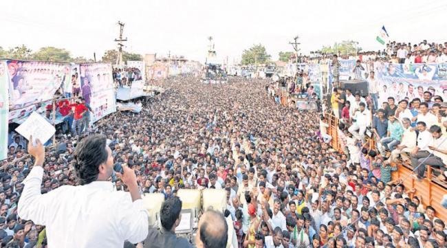 YS Jaganmohan Reddy fires on chandrababu govt - Sakshi