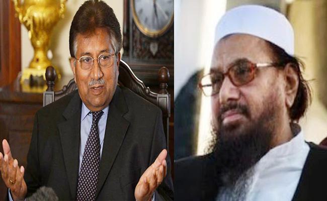 Musharraf says Forming Political Alliance With Hafiz Saeed - Sakshi