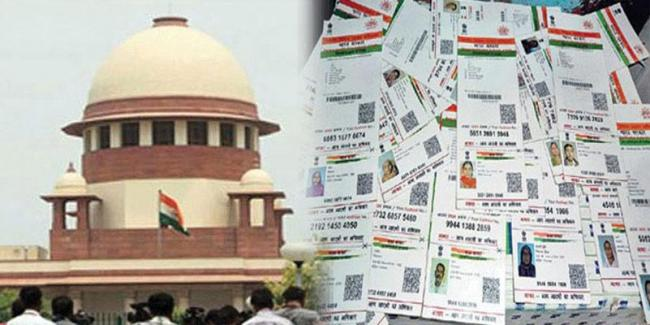 Deadline for mandatory linking of Aadhaar will be extended to March 31 next year, Centre tells SC - Sakshi